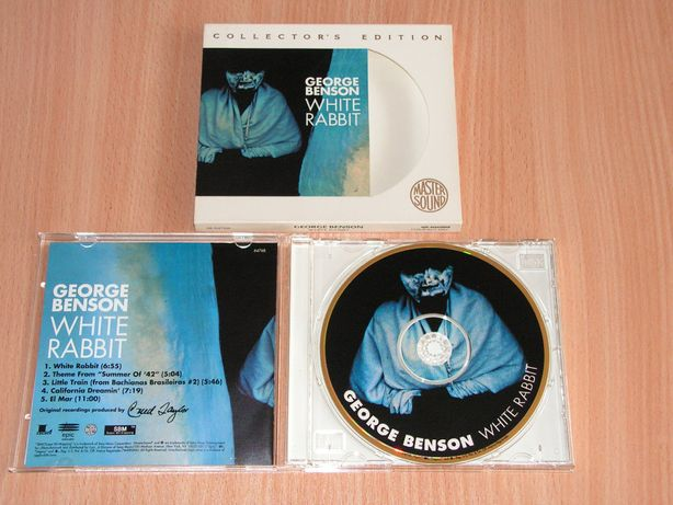 George Benson - White Rabbit ZK-64768 Mastersound slipcase GOLD