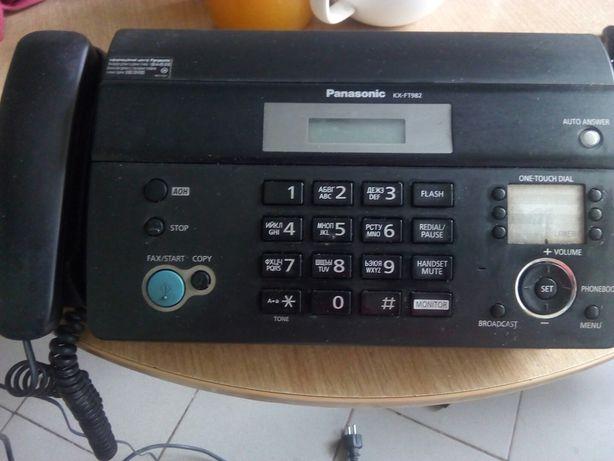 Факс телефон Panasonic KX-FT982