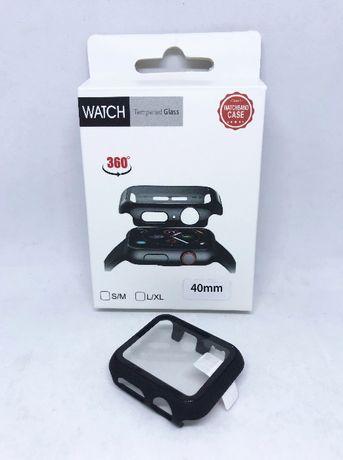 Capa protectora 360º com película de vidro temperado Apple Watch 40mm