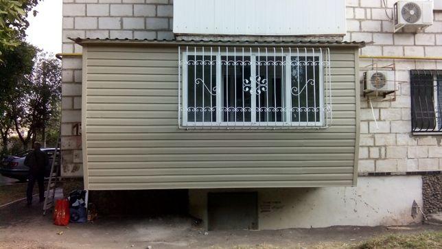 Балконы любой сложности под ключ