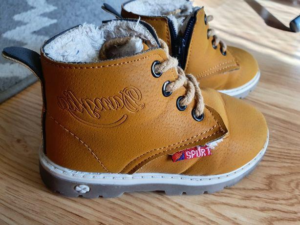 Zimowe buciki dla chłopca