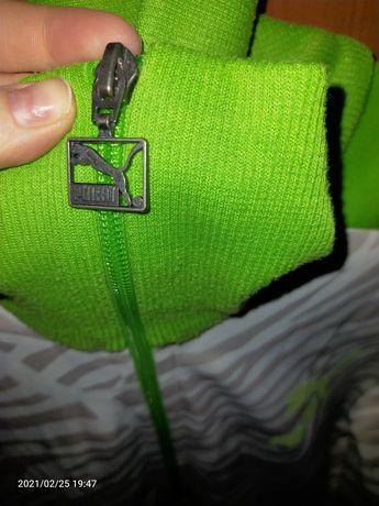 Bluza Puma xl biało zielona