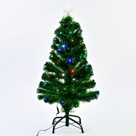 Маленькая елка 90 см, полный комплект (подставка + подсветка)