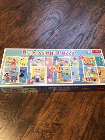 Puzzle dwustronne Zawody Trefl