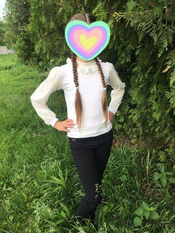 Блузка на дівчинку 9-10р