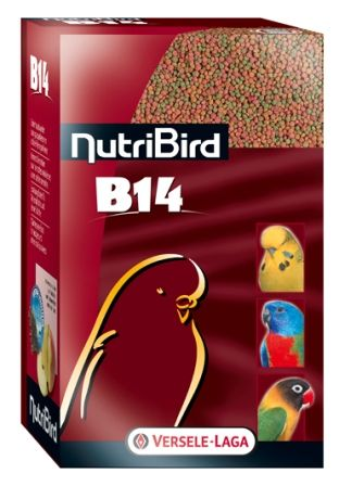 NutriBird B14 papuga falista nierozłączka mała