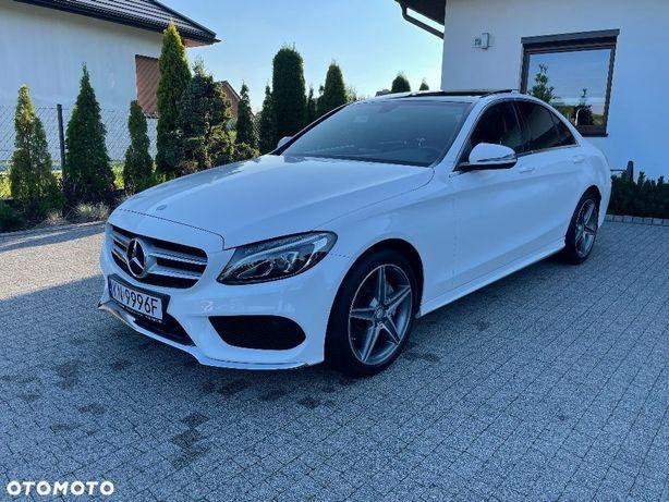 Mercedes-Benz Klasa C Mercedes C klasa Pakiet AMG Stan IDEALNY! Salon Polska