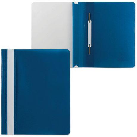 Скоросшиватель синий пластиковый А5 SKIPER