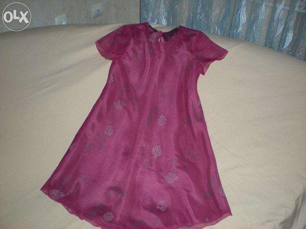 Платье шифоновое Kids World рост 116