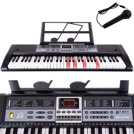 Keyboard - organy elektroniczne 61 klawiszy K11280 pianinko