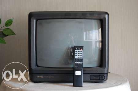 Televisão sanyo avariada