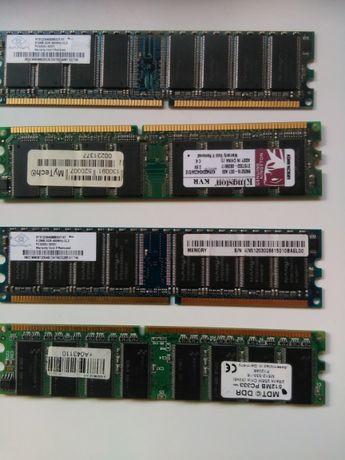 4 Memorias RAM 512 MB
