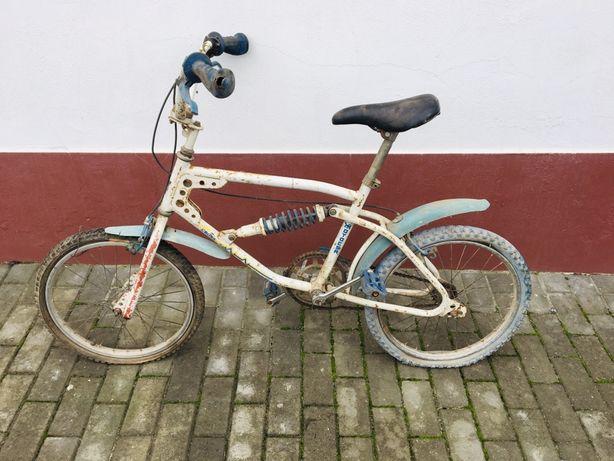 Bicicleta antiga bmx vintage