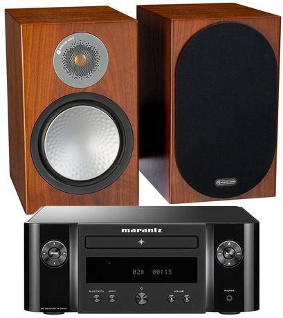 MARANTZ MELODY + MONITOR AUDIO 6G SILVER 100 zestaw stereo | Raty 30x0