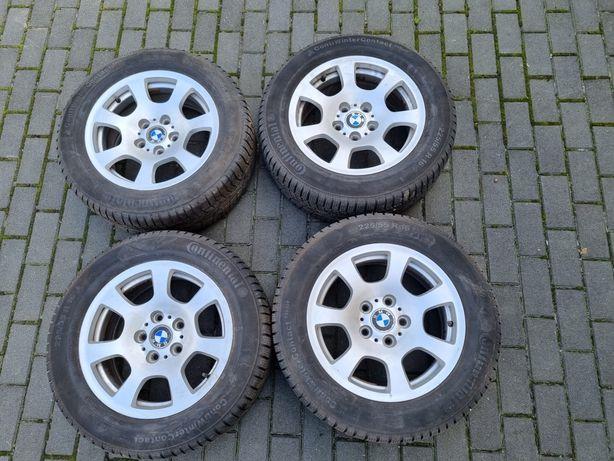 """Koła BMW - alufelgi 16"""" + opony zimowe 225/55 R16"""