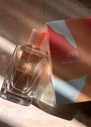 Zara wonder rose 200ml духи