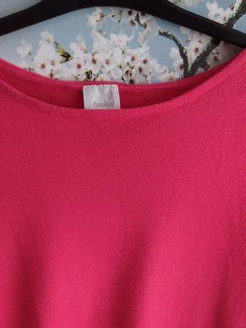 Sweter różowy roz. S