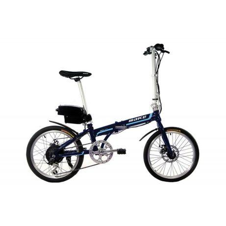 """Электровелосипед складной МАКЕ 20"""" 36V12Ah350W алюминиевая рама 17"""""""