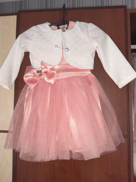 Плаття нарядне фатин болеро платье 86см 92 см