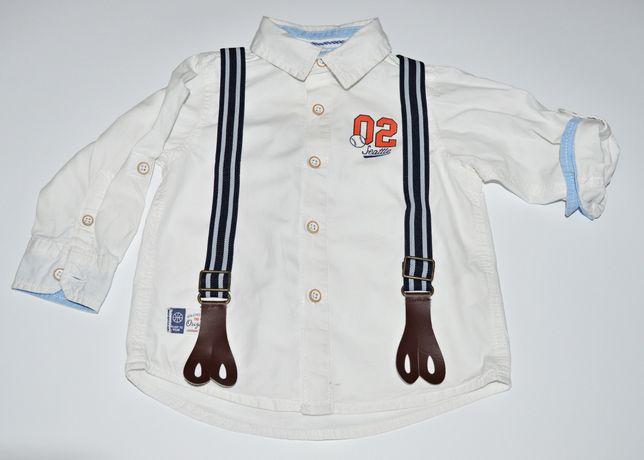 Biała koszula Reserved 74m