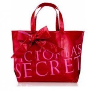 Victoria's Secret shopper oryginalna torebka na ramie rozowa czerwona