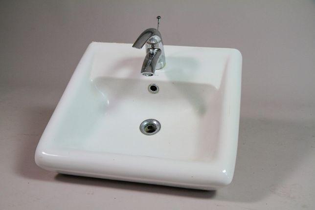 Umywalka Cersanit z baterią