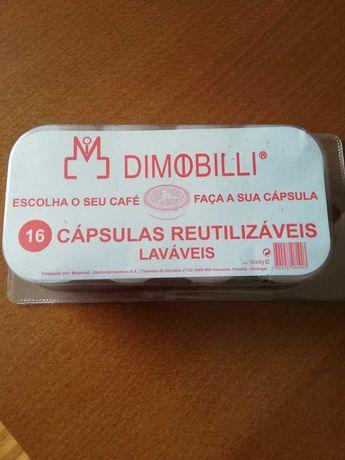 cápsulas reutilizáveis Dimobilli