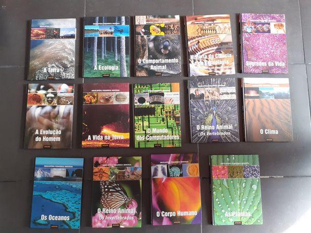 Enciclopédia pedagógica universal: conj 14 livros