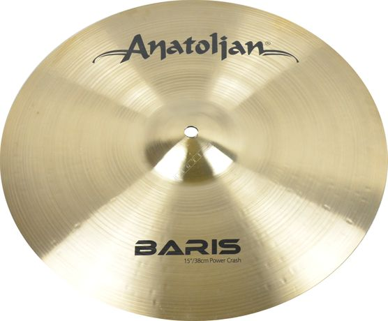 "SALE !!! Talerz perkusyjny- Anatolian 15"" Baris Power Crash"