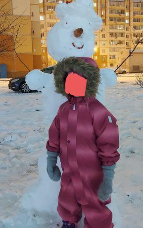Зимний комбинезон Reima рост 98