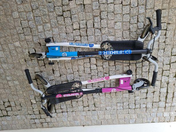 Trotinete 3 rodas azul ou rosa