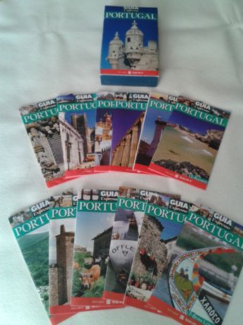 Colecção de brochuras GUIA EXPRESSO de Portugal, C/OFERTA EXTRA