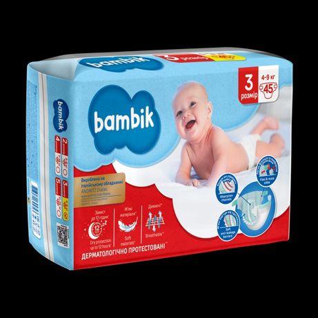 Подгузники  BAMBIK размер 3