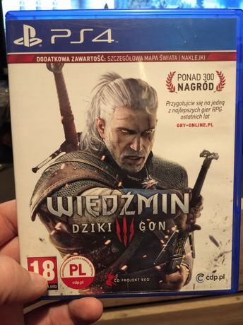 Wiedźmin 3 Dziki gon ps4 PlayStation 4