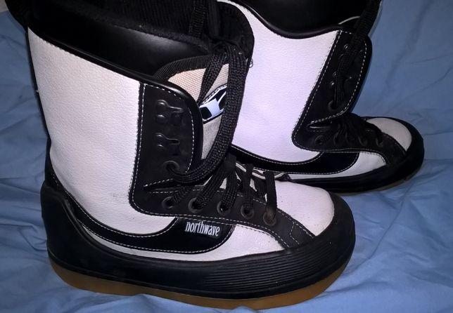 как НОВЫЕ фирменные ботинки NORTHWAVE для сноутборда 39-40 размер