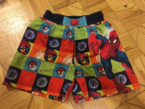 szorty kąpielowe Spiderman r. 98/104