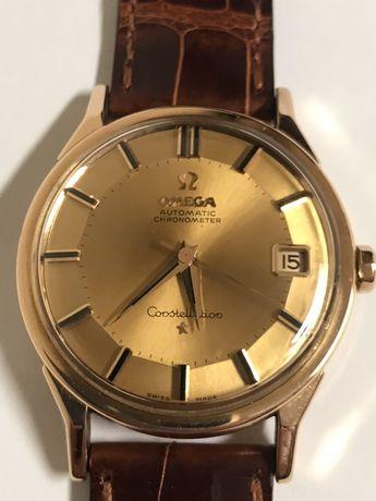 Relógio Omega costellation de ouro