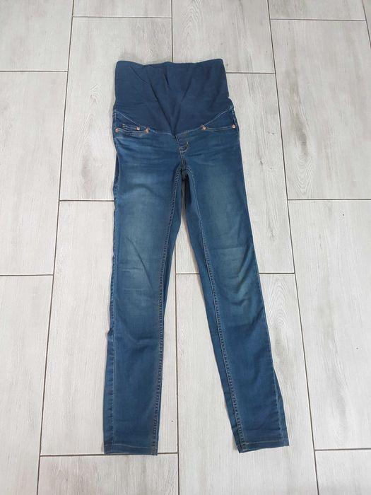 Jeansy ciążowe H&M rozmiar 34 super skinny Bytom - image 1