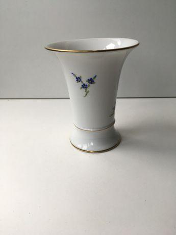 Vaso de porcelana , Hoscht,AG-159, pintado á mão, cerca 1950