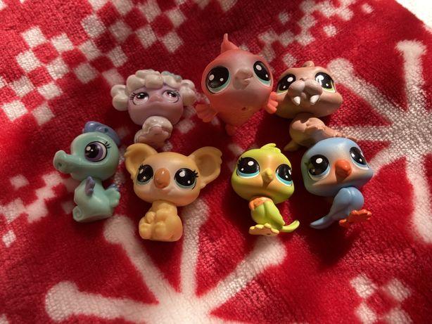 Маленькі, оригінальні фігурки little pet shop