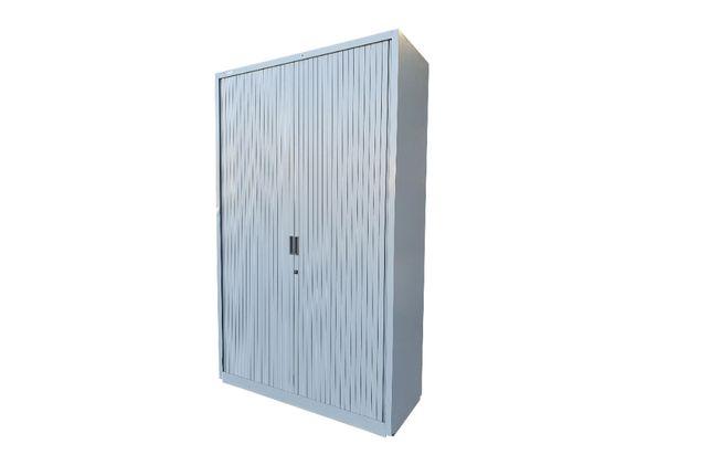 Szafa metalowa roletowa magazynowa 110 kg 195x120x47 cm z kluczem