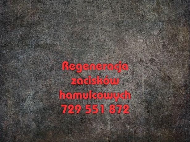 Regeneracja hydraulicznych zacisków hamulcowych