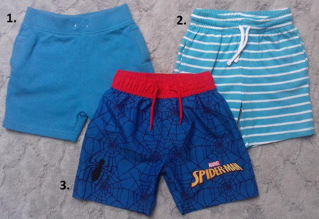 Krótkie spodenki-szorty-kąpielówki 3-4lata,4-5lat Marvel Spider-Man
