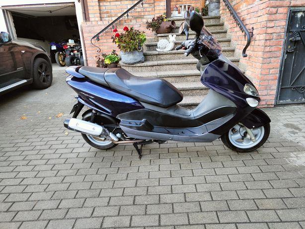 Yamaha Majesty 125 4t Transport