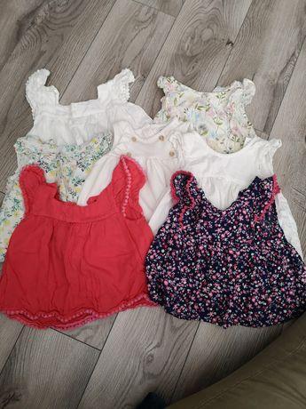 Bluzki sukienki Reserved primark rozm 80