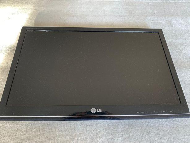LG Monitor czarny