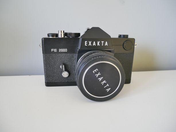 Kolekcjonerski aparat Exakta FE2000 Ihagee West Exakar 55mm f 1.7