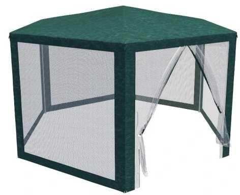 Nowoczesny pawilon - namiot ogrodowy ALTANA z moskitierą na owady HIT