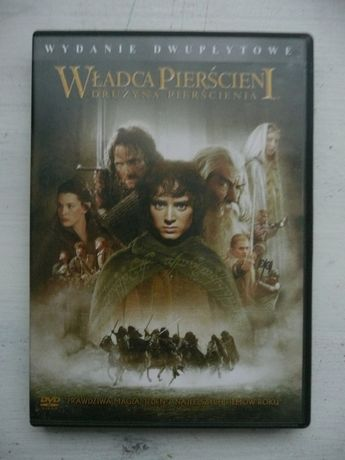 DVD Władca Pierścieni -drużyna pierścienia (2 dvd)