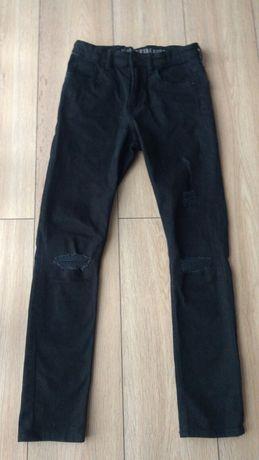 Spodnie czarne H&M 152  Hit
